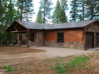 Photo for Blessed Pines Cabin, Secluded 7 Acres Surrounded By Lincoln National Forest