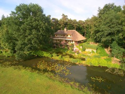 Photo for Entire country house, situated in natural surroundings with a view over meadows.