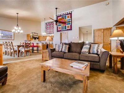Photo for 2 Bedroom Multi-Level Condo w/Hot Tub Access & Gourmet Kitchen!