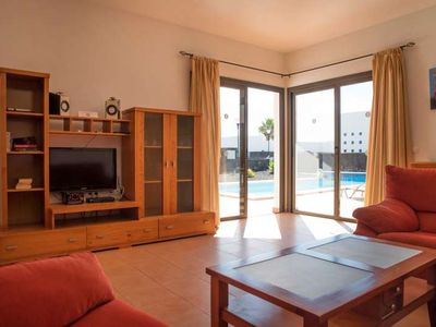 Photo for Villa ZABLANTRI in Playa Blanca for 6 persons with pool, terrace, garden, balcony, views to the ocean, views of the volcanoes, WIFI on the go and less than 2000m to the sea