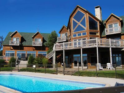 Photo for Under the Stars- 9 bedroom lake access home with private indoor and outdoor pools