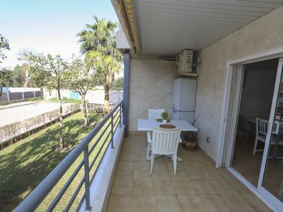 Photo for 122-BELLMAR. One bedroom apartment 50m from the beach