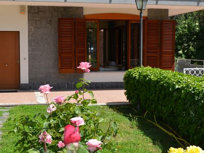 Photo for precious villa with wonderful garden in the lovely Trecastagni, Etna park