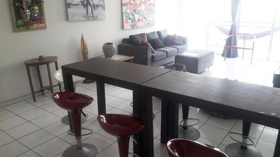 Photo for Large Apartment, airy and decorated two blocks from Boa Viagem Beach