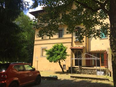 Photo for Historical house with pleasant garden, in the historic center of Cutigliano