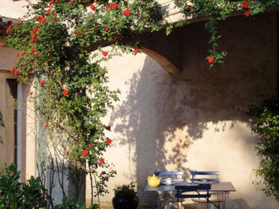 Photo for Nice studio equipped with terrace and garden in villa in St Paul de Vence