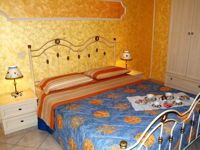 Photo for Apartment just steps from the beach in Taormina Mare