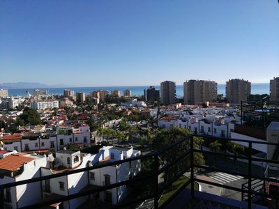 Photo for Penthouse for complete relaxation overlooking the Bay of Malaga