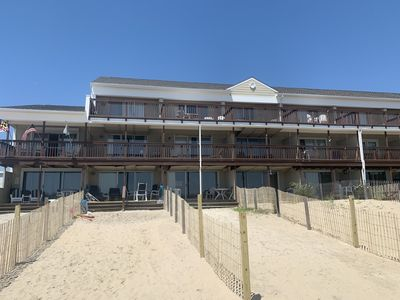 Photo for 4 Bedroom 2 1/2 Bath Ocean Front Townhouse with Outdoor Pool