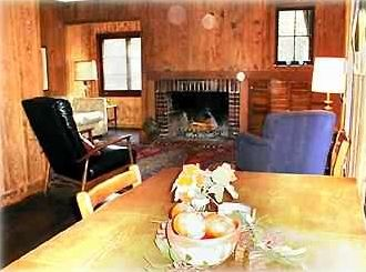 The cozy living/family room