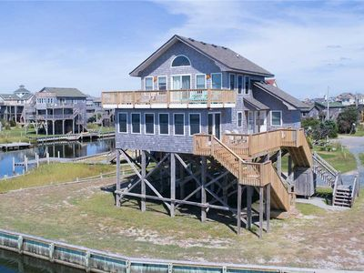 Photo for Perfect for Windsports & Fishing! Soundfront in Avon w/ Boat Dock, Stunning View