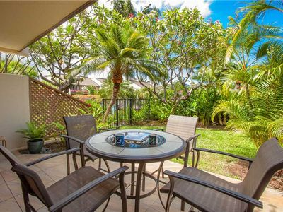 Photo for Bright and open ground floor one bedroom condo at Maui Kamaole L-110