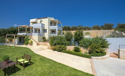 Photo for Familly Villa with Breathtaking Sea View, Heated private  pool 50 sq.m. and BBQ.