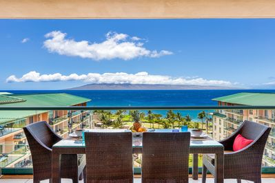 View from our lanai table