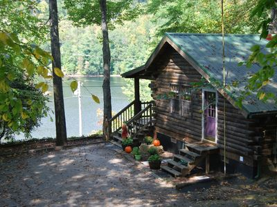 Photo for Cedar Cliff Beach Cabin, Tuckasegee, NC, 15 min. from WCU