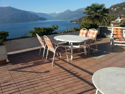Photo for Last minute offer in June: fantastic view on d. Lake Maggiore