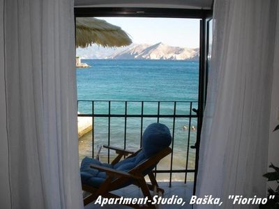 Photo for Holiday apartment Baška for 2 - 3 persons - Holiday house