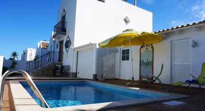 Photo for Algarve SandPerpetua! Relaxing 4 rooms beach house, private pool, beach at 200m