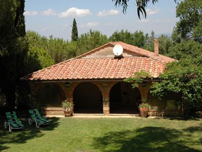 Photo for 'Aurelia' neat farmhouse, stunning private garden, 10 km to the sea