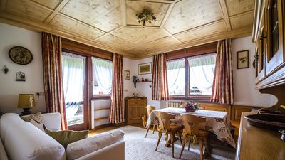 Photo for 2BR Apartment Vacation Rental in Cortina d'Ampezzo, Veneto