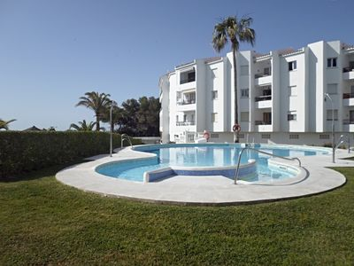 Photo for Nice apartment 5 minutes to Torrecilla beach, 2 bedrooms A/C