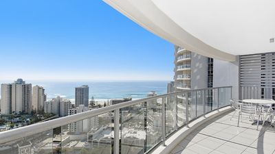 Photo for 25th Level, Ocean & City Views of Surfers! 3254