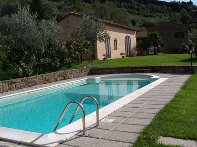 Villa:Wonderful Panoramic Position,Walking Distance From Cortona,Family-Friendly