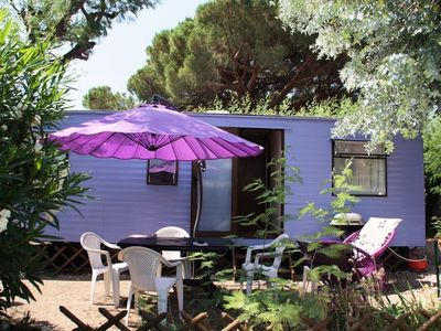 Photo for Camping Plateau des Chasses *** - Mobile Home 3 Rooms 6 People