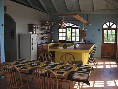 View of Kitchen & Dining Area