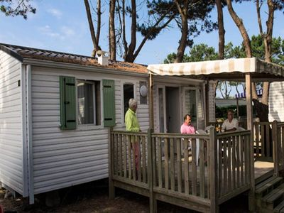 Photo for Camping L'Océan ***** - Mobil Home Authentic 3 Rooms 4/5 People