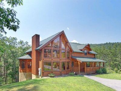 Photo for Beautiful Family Owned Luxury Cabin - Minutes From The Heart Of Pigeon Forge Tn