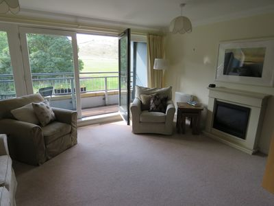 Sitting room and balcony