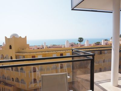 Photo for BRAND NEW APARTMENT, GREAT SEAVIEW, 500 M.FROM SEA, 4 PERS, 2 BATHR. AIRCO, WIFI