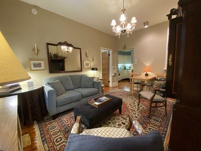 Anna's Retreat is a lovingly furnished one-bedroom apartment in St. Louis' Tower Grove East neighborhood.