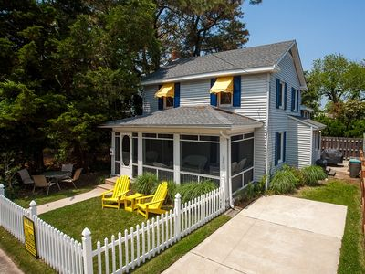 Photo for South Rehoboth cottage with screened porch offered pet friendly!!