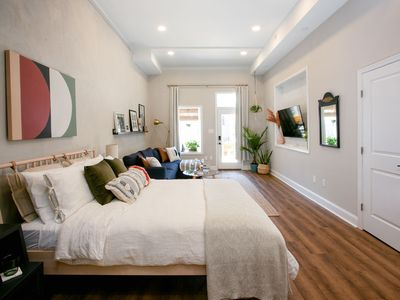 Photo for Sunny & Lofty in Manayunk w/ Private Outdoor Space
