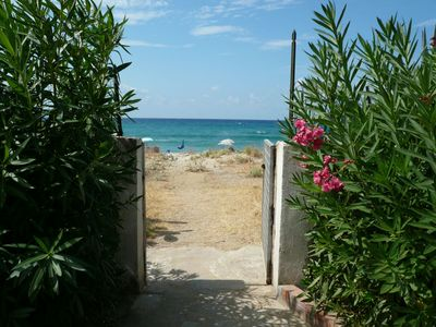 Photo for Palinuro exclusive villa on the beach