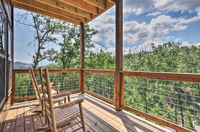 Explore the best of Gatlinburg from this vacation rental cabin!