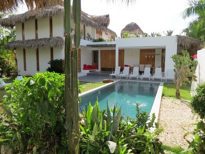 Photo for Eco-zen villa in Playa coson