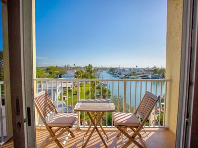 Photo for Great Value in a Waterfront Resort.  Marina View from Private Balcony.