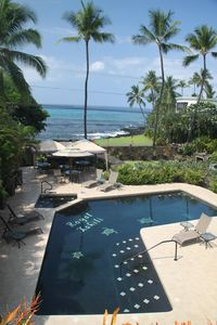 Photo for Kona Ocean View, Pool and BBQ, Beautiful Gardens