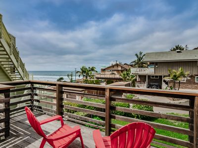 Photo for Encinitas Beach House Rental at Moonlight Beach - Ocean View!