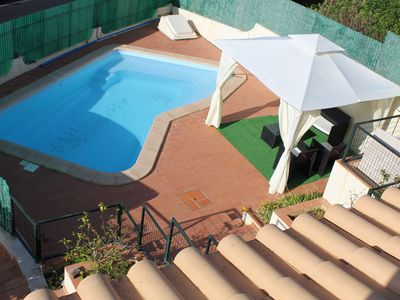 Photo for Villa with Private Pool, Pool Table. 7 Beds (5 double 2 single), sleeps 10