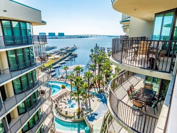 Two Bedroom Orange Beach Condo Featuring Views Of Terry Cove Robinson Island And The