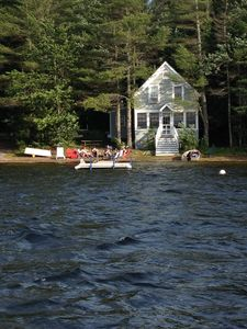 Photo for Charming Cottage on Highland Lake, Falmouth