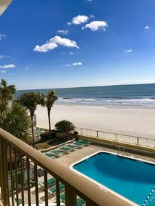 Photo for Fabulous View, Oceanfront Unit, Brigadune #3F Shore Drive Myrtle Beach SC