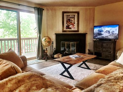Photo for Redecorated Roomy Townhouse, Mount Snow Views, Shuttle To Mountain,Pool