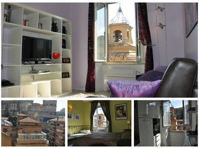 Photo for Bright and elegant apartment in the center of Rome with a view of the Vatican City