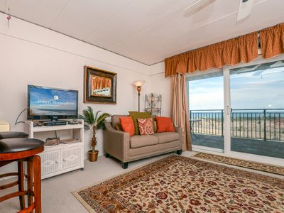Photo for Beachloft is a one bedroom oceanfront unit with a outdoor pool