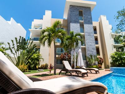 Photo for Luxury & Quiet 2 BR Condo in Playa del Carmen